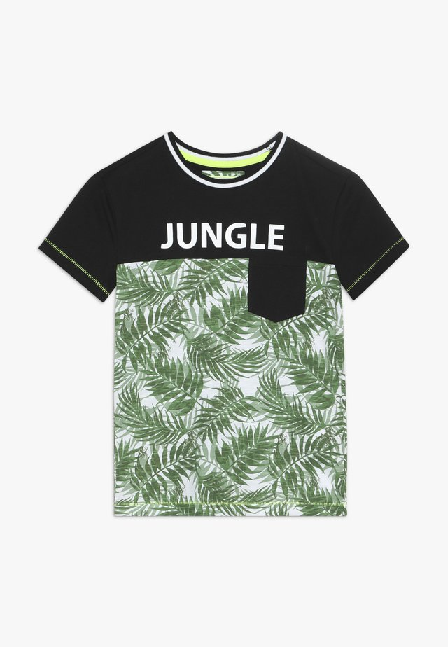 BOYS JUNGLE - T-shirt z nadrukiem - green