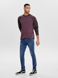 Only & Sons - Slim fit jeans - blue denim - 1