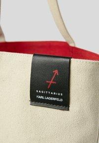 KARL LAGERFELD - ZODIAC - Torba na zakupy - natural - 4