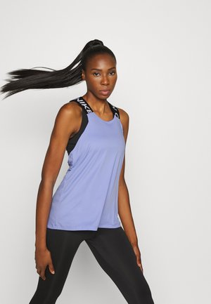 DRY ELASTIKA TANK - T-shirt de sport - light thistle/black/white