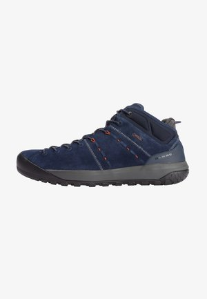 HUECO MID GTX - Hiking shoes - marine-crumble