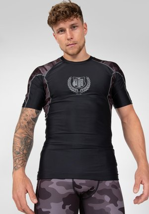CYPRESS RASHGUARD - T-shirt print - black