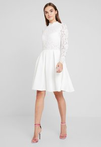Molly Bracken - LONG SLEEVES - Vestido de cóctel - white - 2