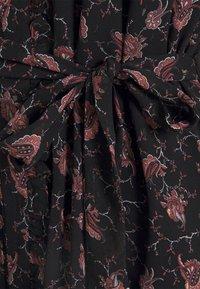 Bruuns Bazaar - ALCEA MARY DRESS - Shirt dress - black - 6