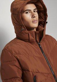 TOM TAILOR DENIM - Winter jacket - goji orange - 3