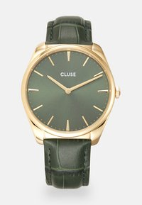 Cluse - FEROCE - Klokke - gold-coloured/forest green - 0