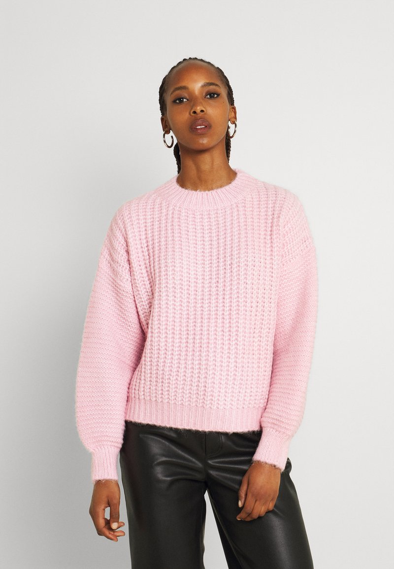 Molly Bracken - YOUNG LADIES KNITTED SWEATER - Jumper - light pink