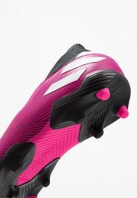 adidas Performance - NEMEZIZ 19.3 LL FG  - Moulded stud football boots - shock pink/footwear white/core black - 2