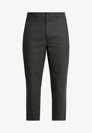 HAWTIN CROP POW CHECK - Broek - charcoal