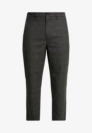 HAWTIN CROP POW CHECK - Trousers - charcoal