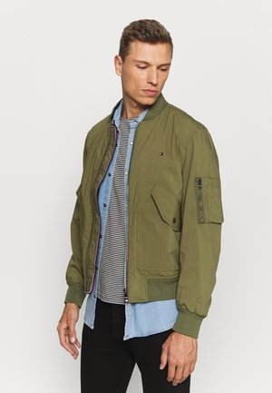 LIGHT WEIGHT - Bomber bunda - moss green