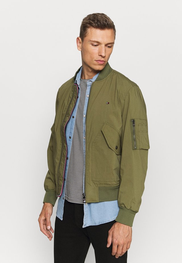 LIGHT WEIGHT - Giubbotto Bomber - moss green