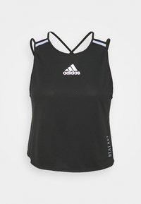 adidas Performance - HEAT.RDY TANK - Treningsskjorter - black - 5