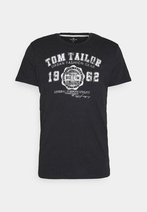 LOGO TEE - T-shirts med print - almost black