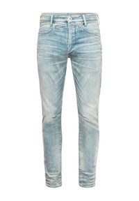G-Star - 5620 3D ZIP KNEE SKINNY - Jeans Skinny Fit - sun faded scanda blue - 5