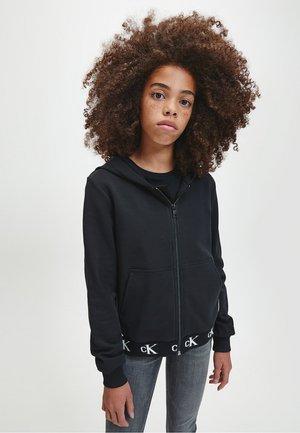 Zip-up hoodie - ck black