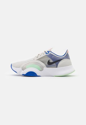 SUPERREP GO - Sports shoes - light bone/offnoir/white/racer blue/cucumber calm/team orange