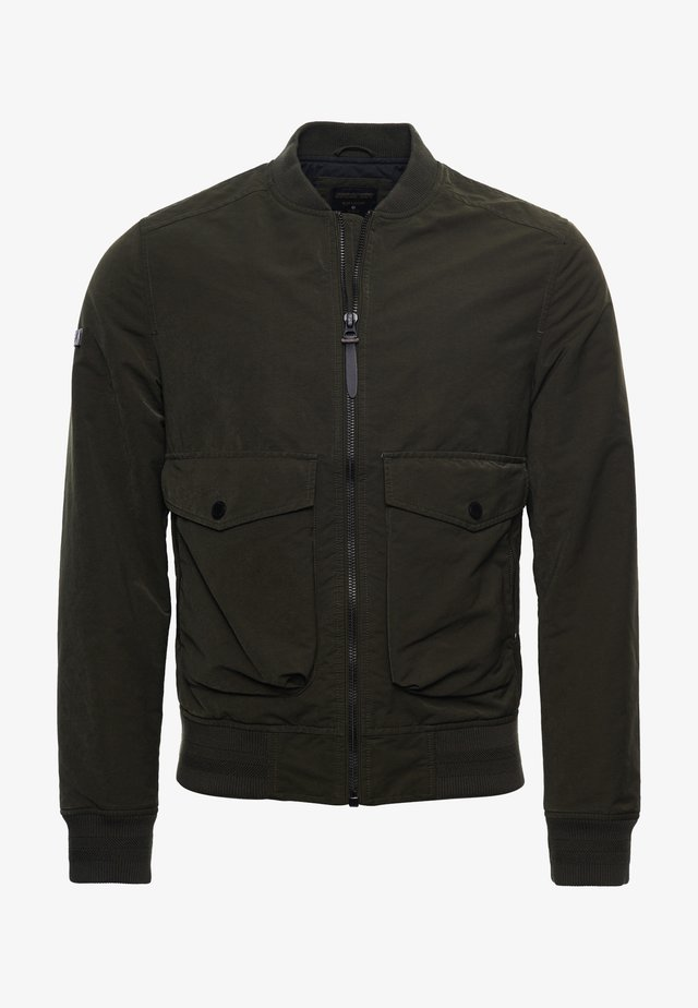 Bomber Jacket - dark khaki