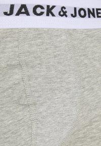 Jack & Jones - JACWHITE TRUNKS 5 PACK - Pants - black/navy blazer/surf the web/light grey melange - 6
