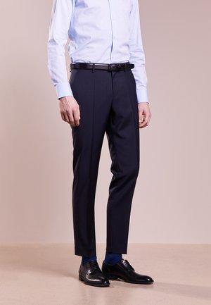 GRIFFIN - Hlače za moške obleke - dark blue