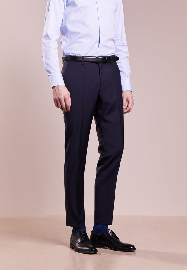 GRIFFIN - Suit trousers - dark blue