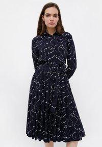 Finn Flare - Shirt dress - dark blue - 0