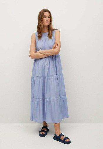 ABRIL - Maxi dress - himmelblau
