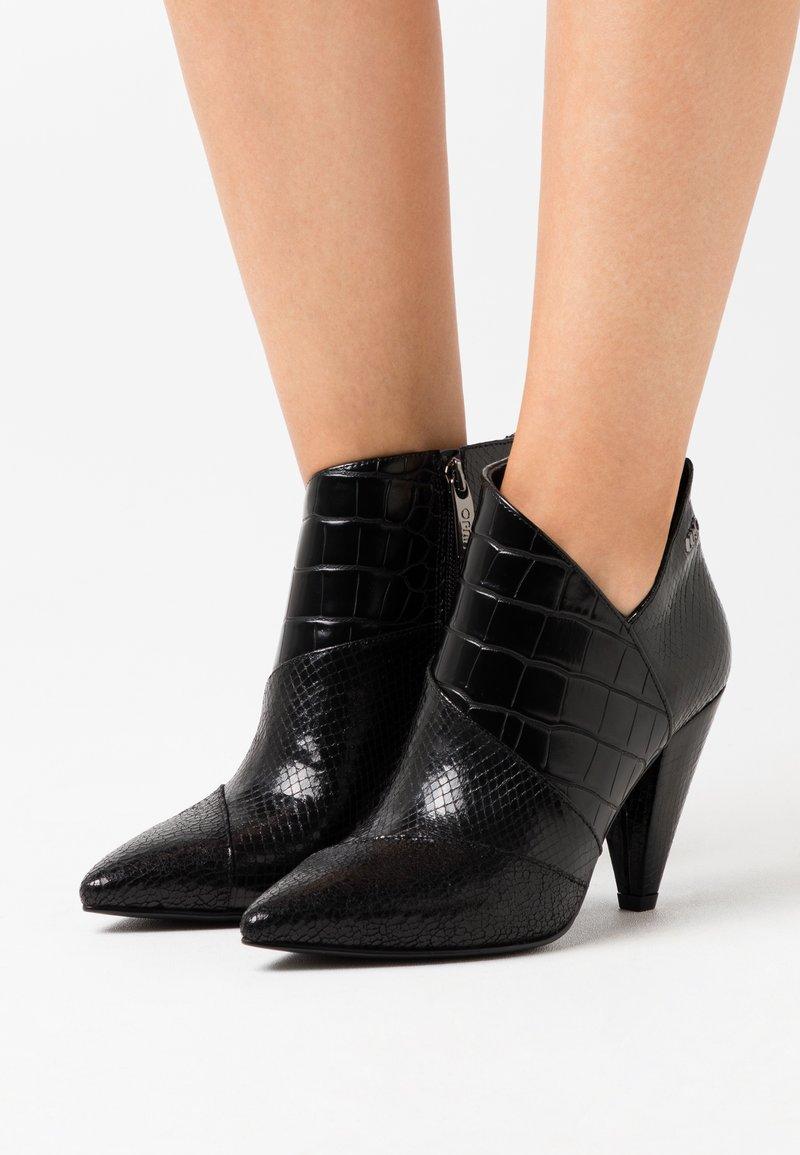 Liu Jo Jeans - SUZIE  - Botines de tacón - black