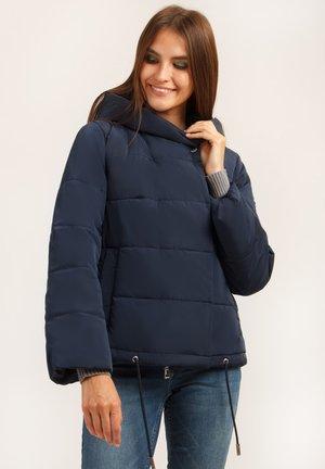 MIT KUSCHELIGER - Winter jacket - cosmic blue