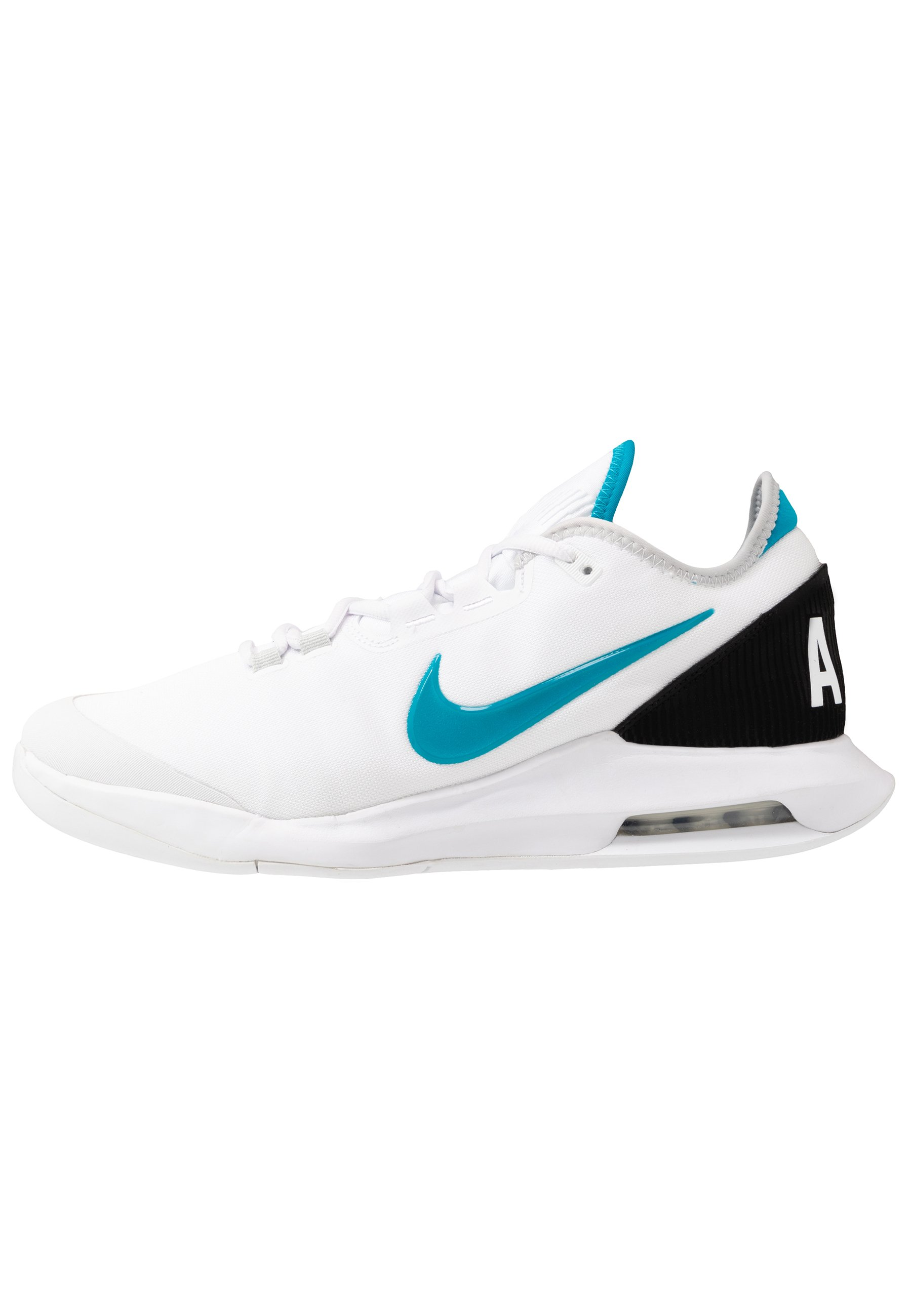 NIKECOURT AIR MAX WILDCARD All court tennisskor whiteneon turquoisegrey foghot lime
