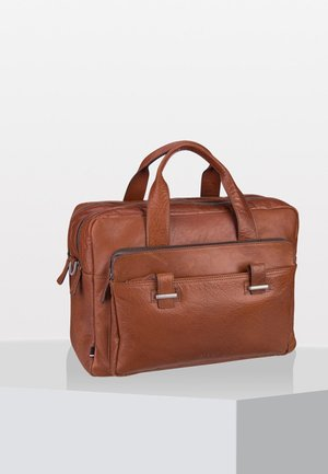 SUTTON - Briefcase - cognac