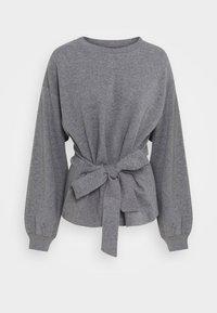 Lounge Nine - WILMA TIEBELT - Sweatshirt - dark grey melange - 5