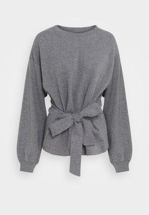 WILMA TIEBELT - Sweatshirt - dark grey melange