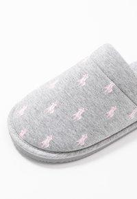 Polo Ralph Lauren - SUMMIT SCUFF  - Slippers - grey/light pink - 2