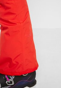 The North Face - PRESENA PANT - Ski- & snowboardbukser - fiery red - 4