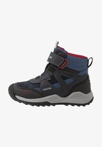 Geox - TERAM BOY ABX - Śniegowce - navy/dark red - 1