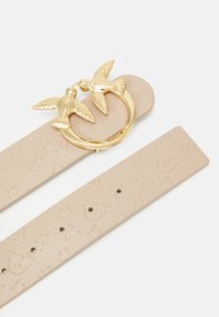 Pinko - BERRY MONOGRAM BELT - Belt - beige - 2