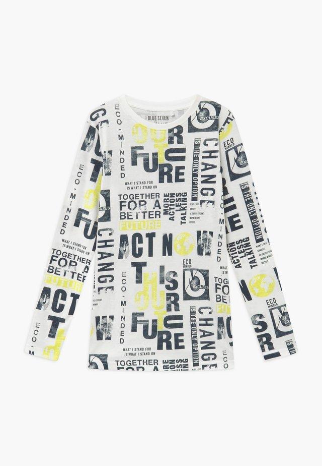 TEENS FUTURE CLIMATE ACTION - Camiseta de manga larga - offwhite