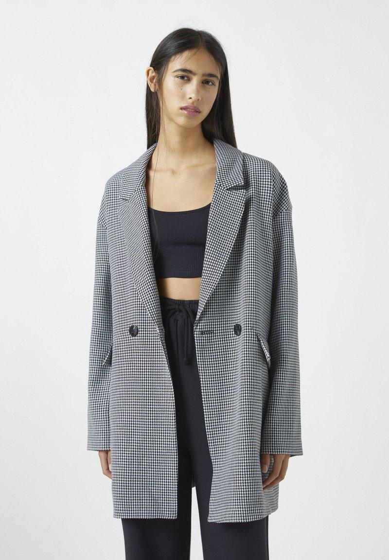 PULL&BEAR - Classic coat - grey