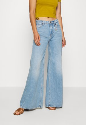 SEASONAL EXTRA WIDE LEG HIGH RISE - Flared Jeans - blue butter
