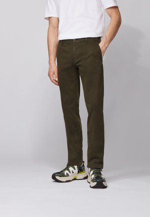 Chinos - open green
