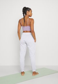 Cotton On Body - LIFESTYLE GYM TRACK PANTS - Tracksuit bottoms - clody grey marle - 2