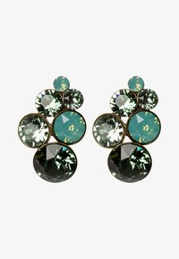 Konplott - PETIT GLAMOUR - Earrings - green antique - 1