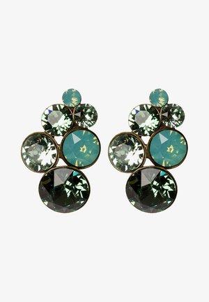 PETIT GLAMOUR - Boucles d'oreilles - green antique