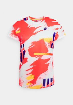 Sports shirt - white/solar red/citrus zest/ultramarine
