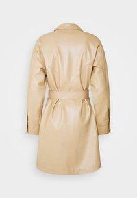 Topshop - SEAMED SHACKETT - Short coat - buttermilk - 1