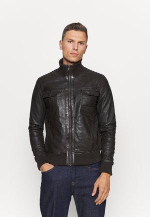 DANY - Leather jacket - brown