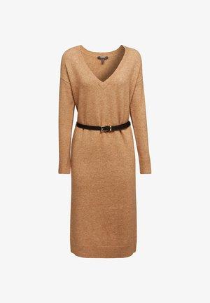 MIT WOLLE  - Jumper dress - beige