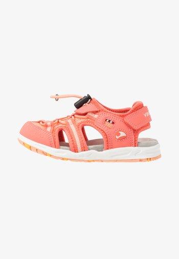 THRILL UNISEX - Walking sandals - coral/antiquerose