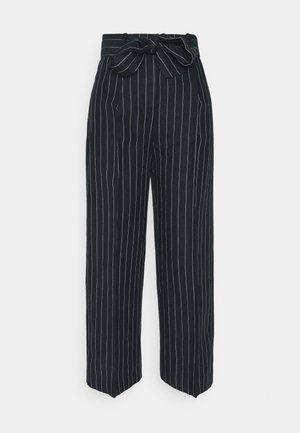 TROUSERS LYKKE NAUTICAL - Trousers - dark navy
